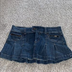 Jean mini skirt Y2K